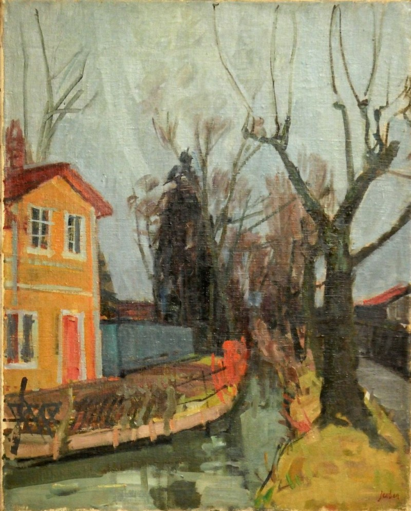 Eulachkanal, um 1950