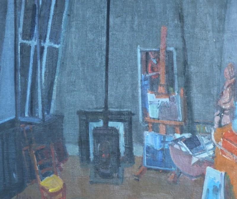 Blaues Atelier, Paris, 1945