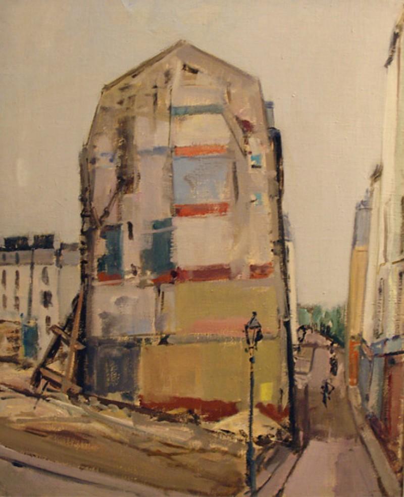 La maison bombardée, 1949