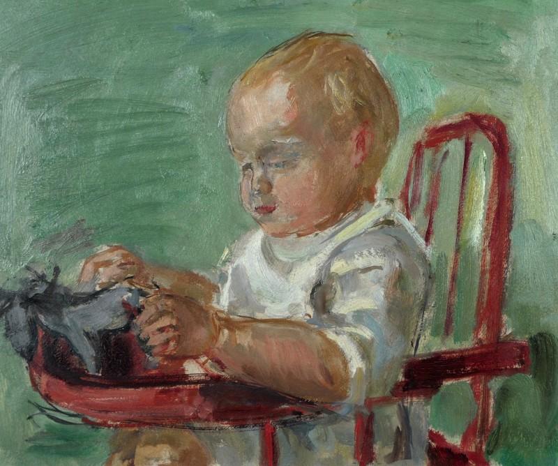 Porträt Jean-Claude Zehnder, ca 1942