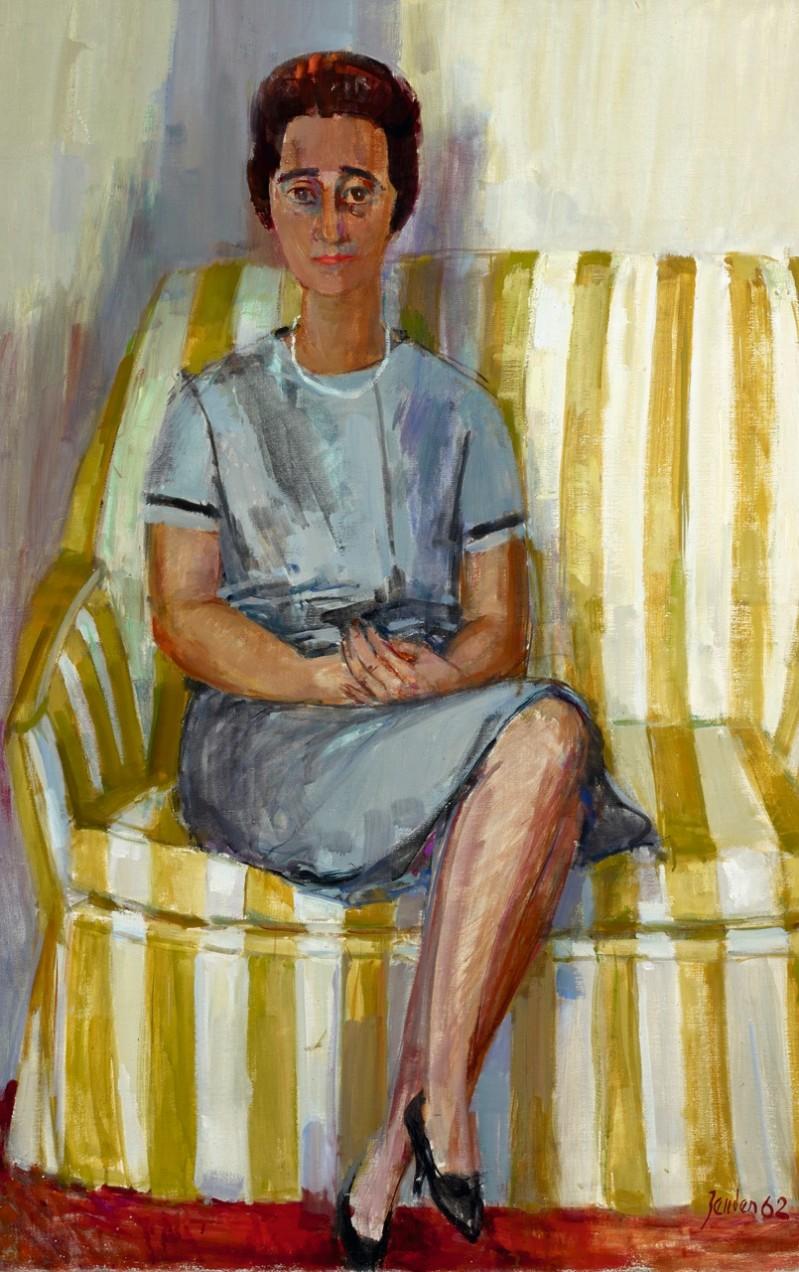 Damenporträt (Frau Binswanger), 1962