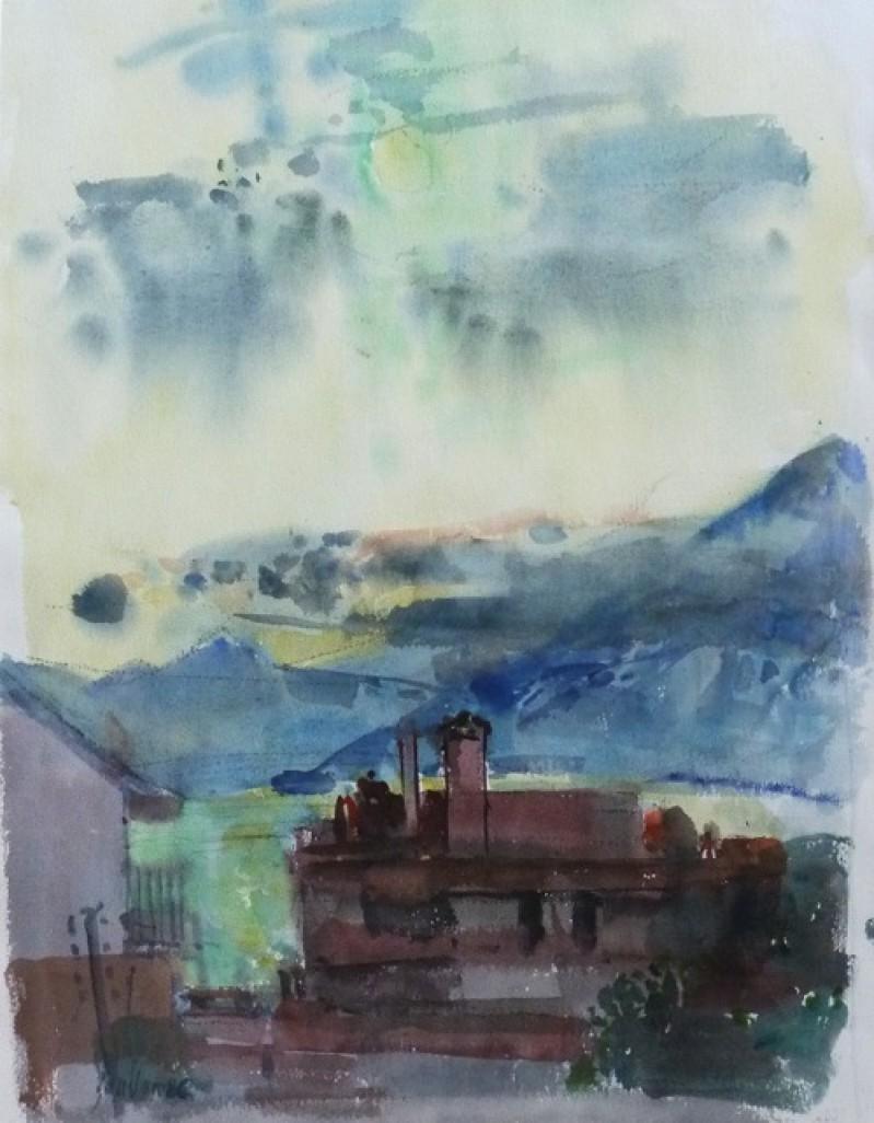 Landschaft, 1986