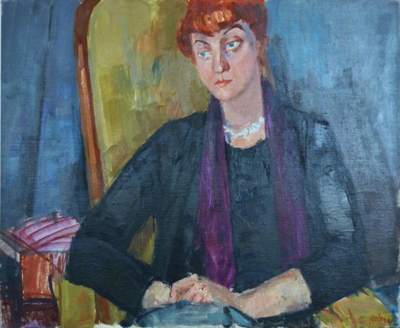 Bildnis von Silvia Herbst, 1961