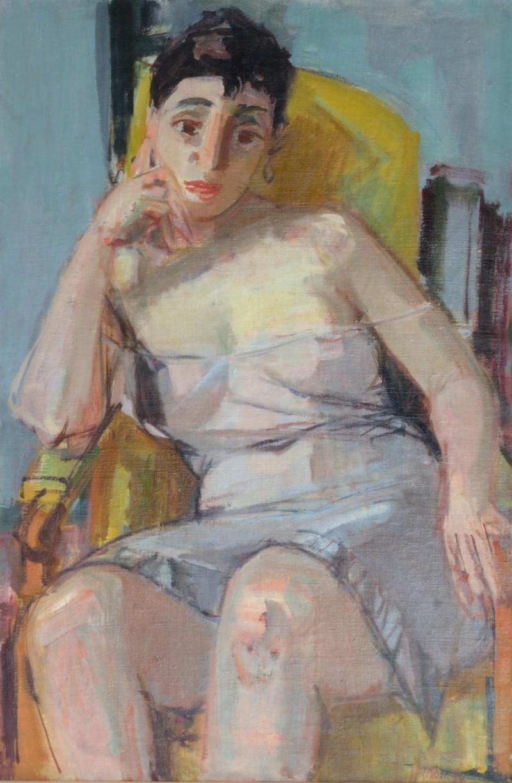 Sitzende Dame, 1954