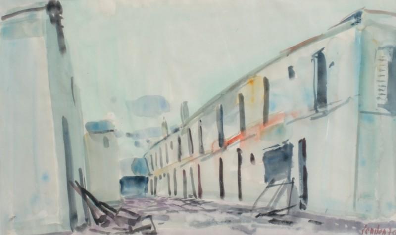 Häuserzeile, 1970