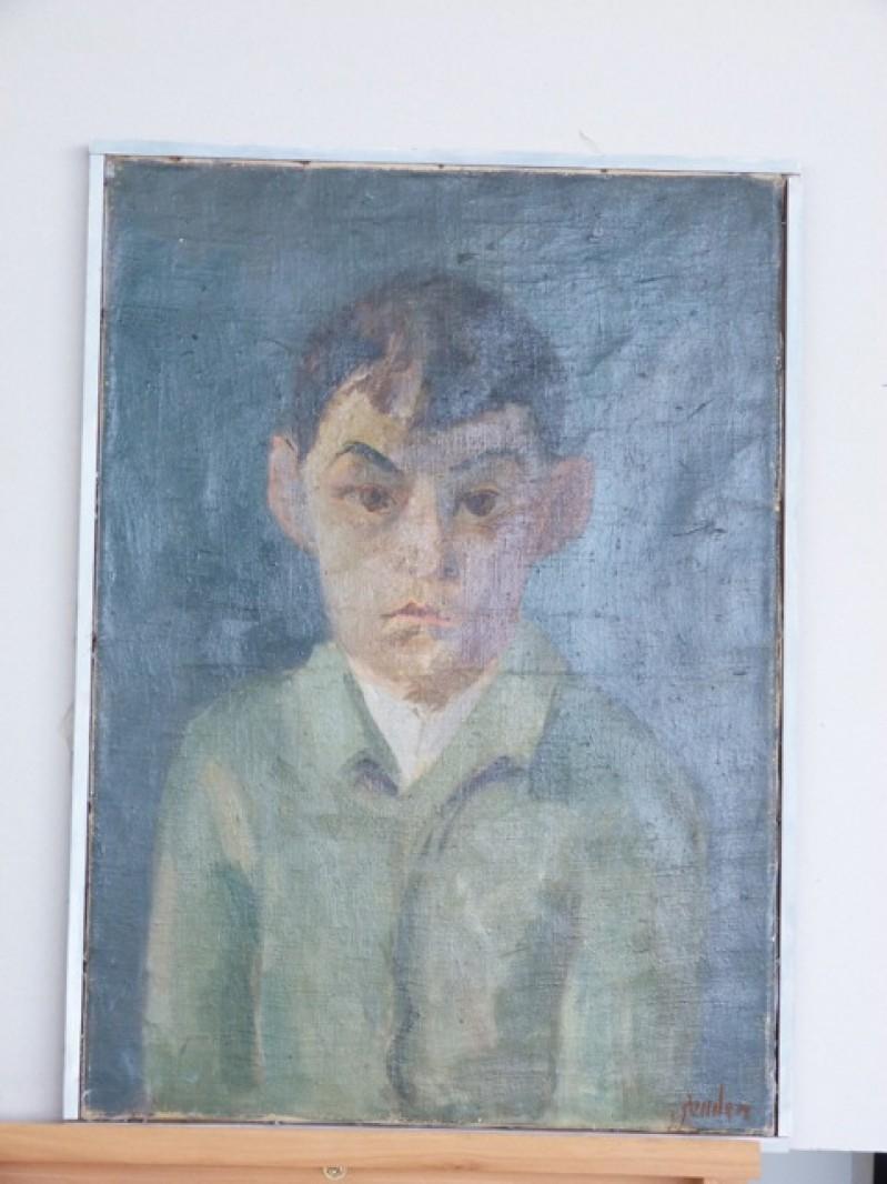 Knabenporträt, Garçon de Mitheuil