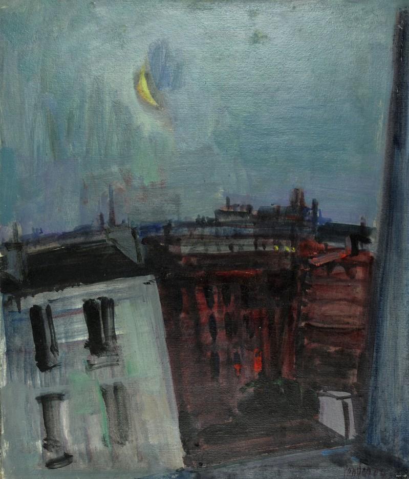 Der untergehende Mond, Paris 1964