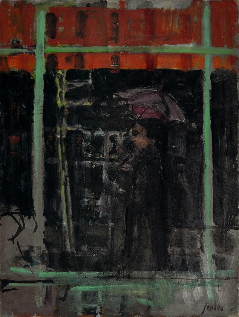 Le parapluie, Paris, 1950/55