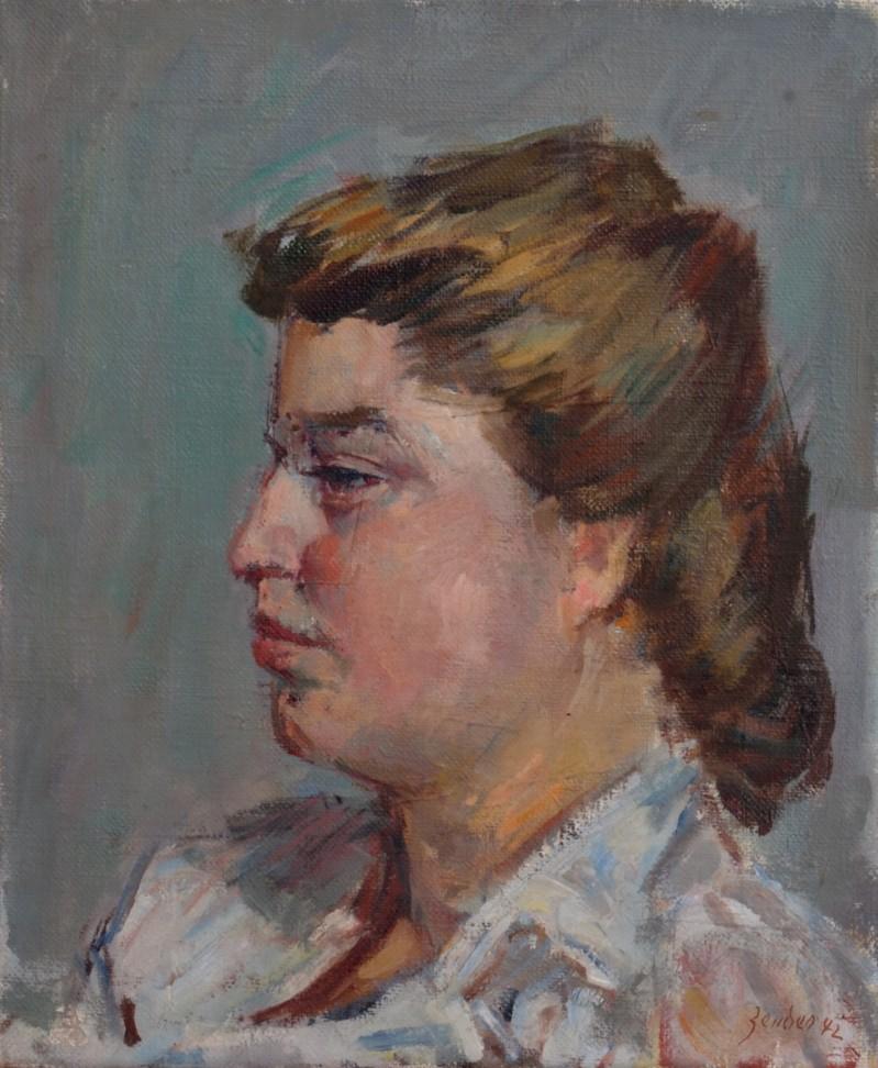 Tète de jeune fille, 1942