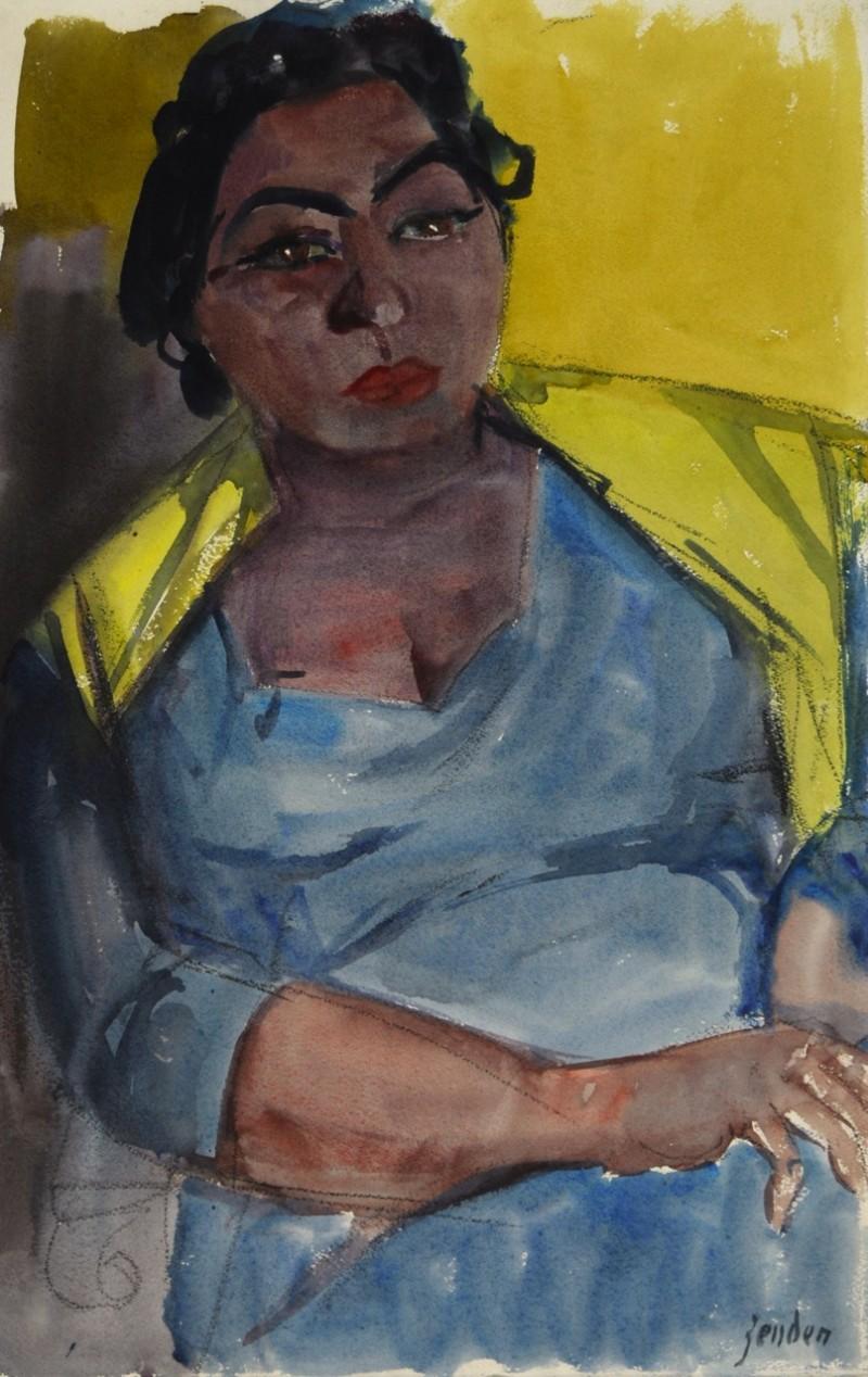 Porträt einer Zigeunerin