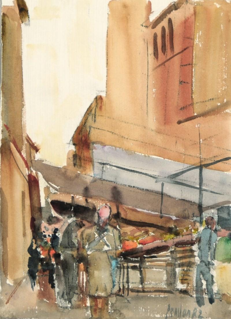 Auf dem Markt, 1982