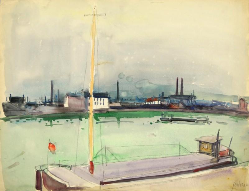 Flusslandschaft, 1964