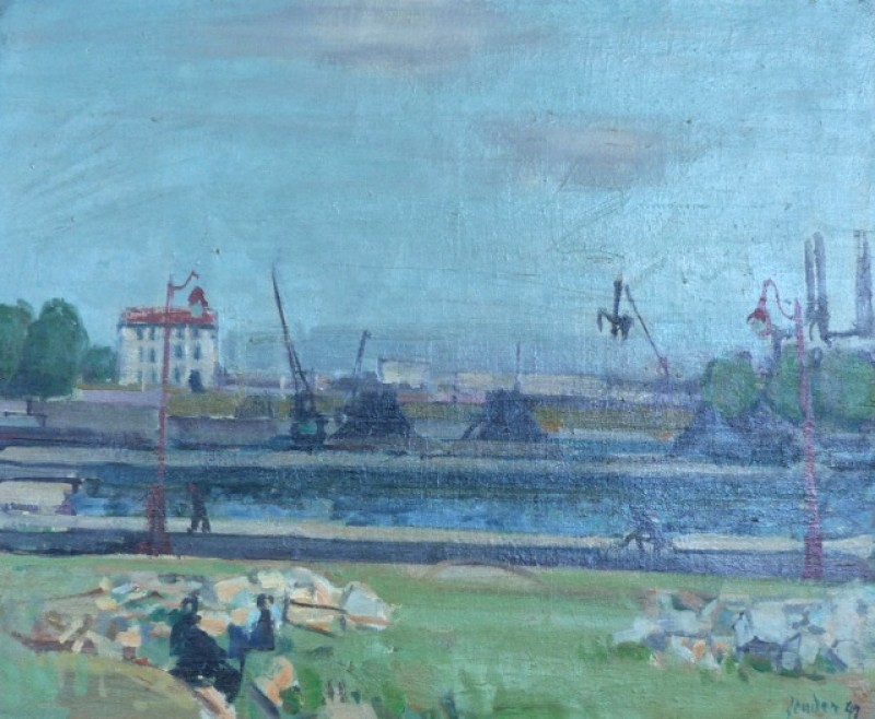 Blaue Seine, 1949