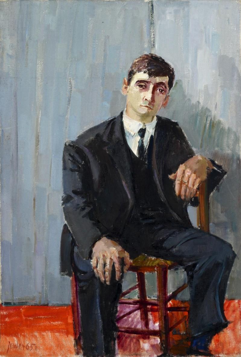 Paris, le garçon de café, 1965
