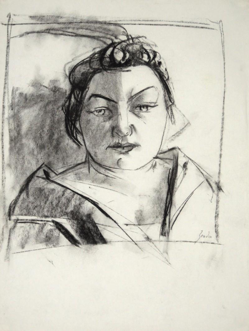 Porträt Zigeunerin