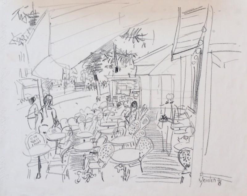 Im Strassencafé, 1978