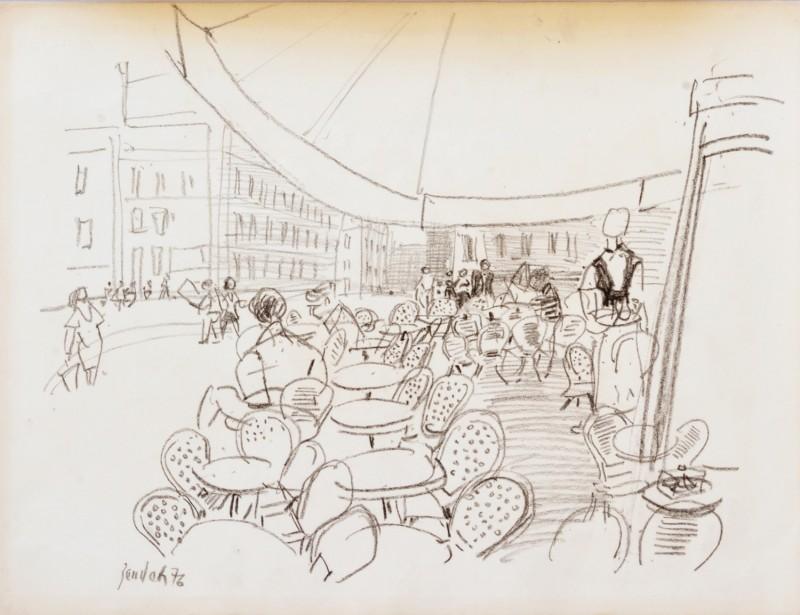 Strassencafé, 1976