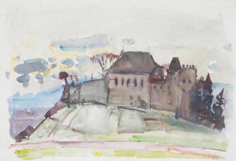 Burglandschaft, 1962