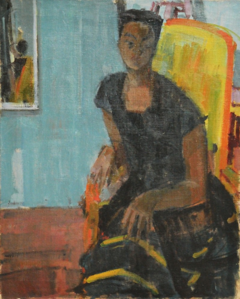 La négresse, 1954