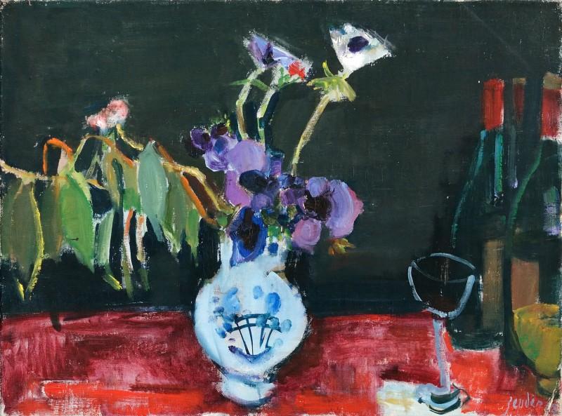 Les Anemones bleues, 1962