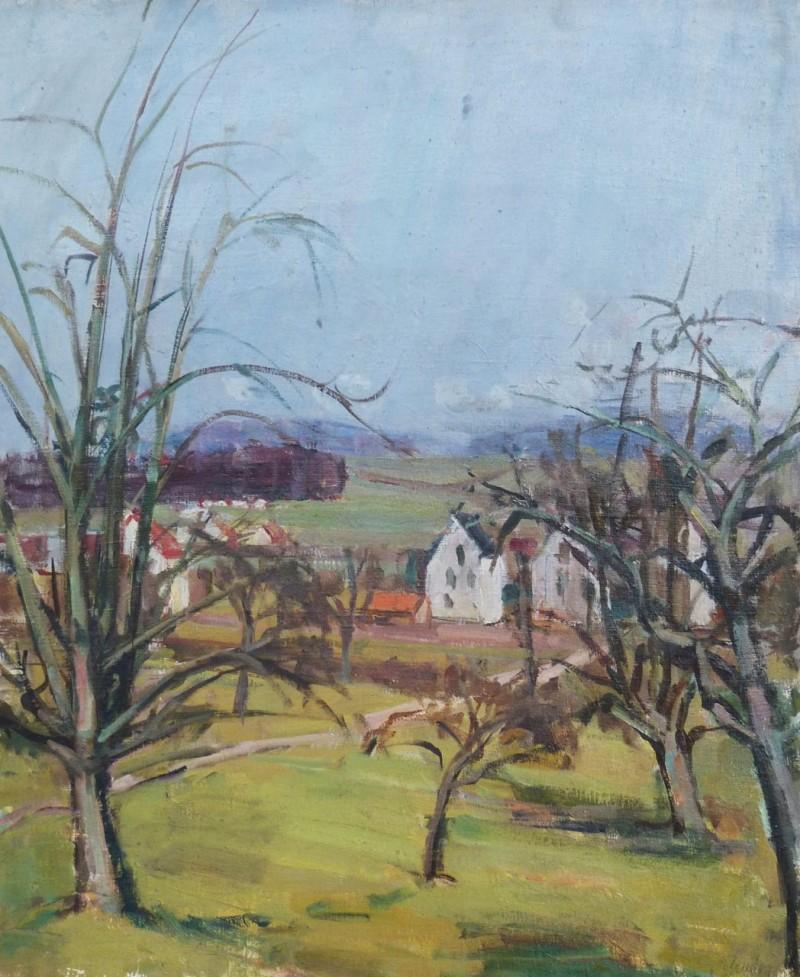 Landschaft bei Zinzikon, 1943