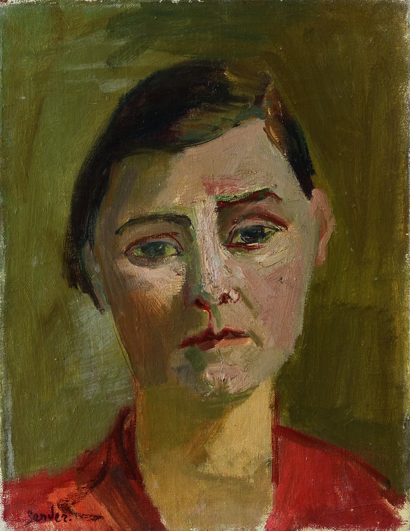 Porträt Mama, um 1930