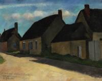 Dorfstrasse in  Auderville, ca