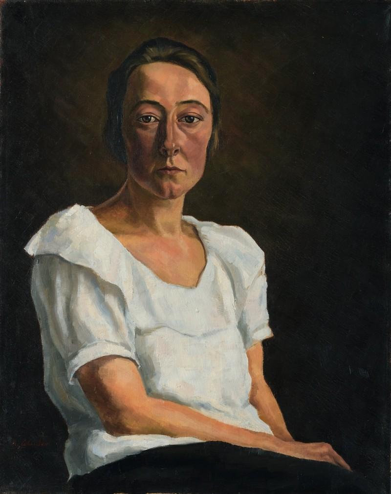 Bildnis der Schwester Sophie, um 1925