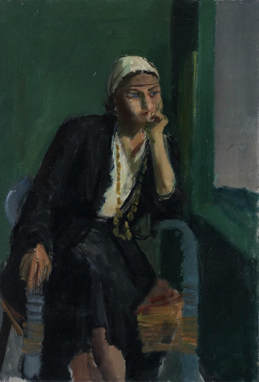 Porträt Trudi, Mitheuil 1931 - 1933
