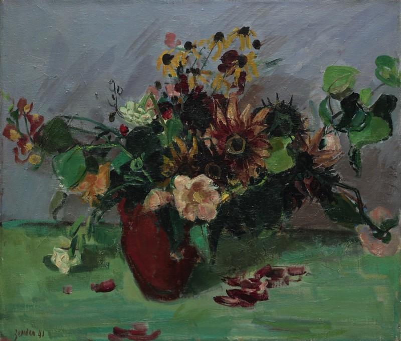 Les dernières fleurs du jardin, Winterthur 1941