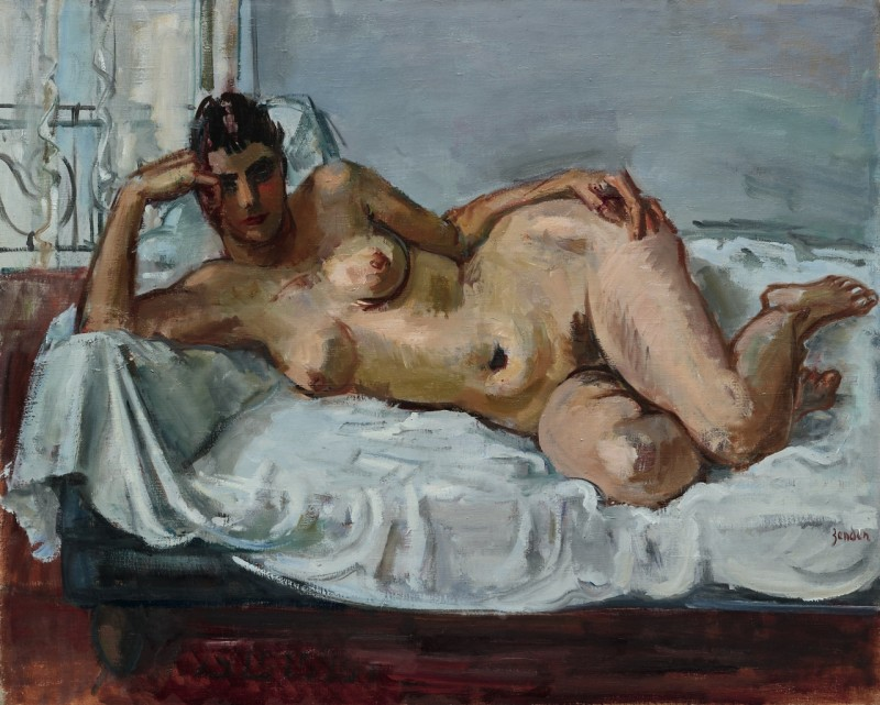 Liegender Akt (Trudi),1939