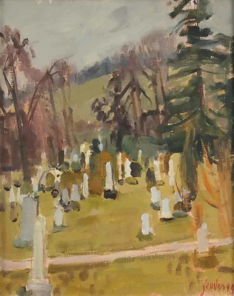 Der alte Friedhof Winterthur, 1944