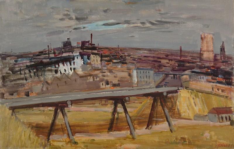 Le pont provisoir, 1965