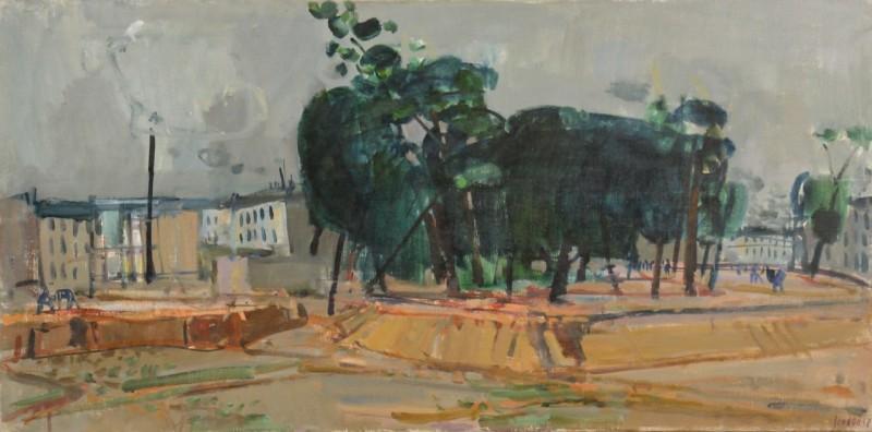 Pariser Vorstadt, 1958