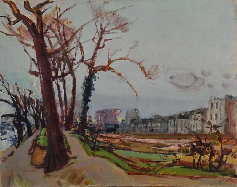 An der Seine, 1954