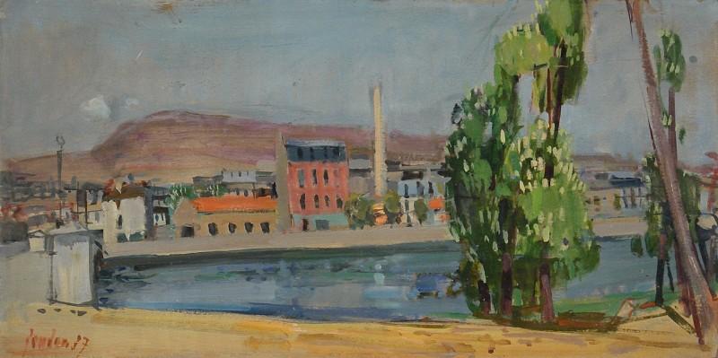 Au pont de Suresnes, wohl 1957