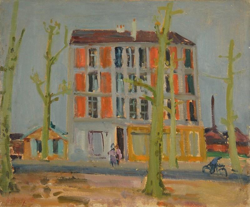 La maison rose, Paris 1957