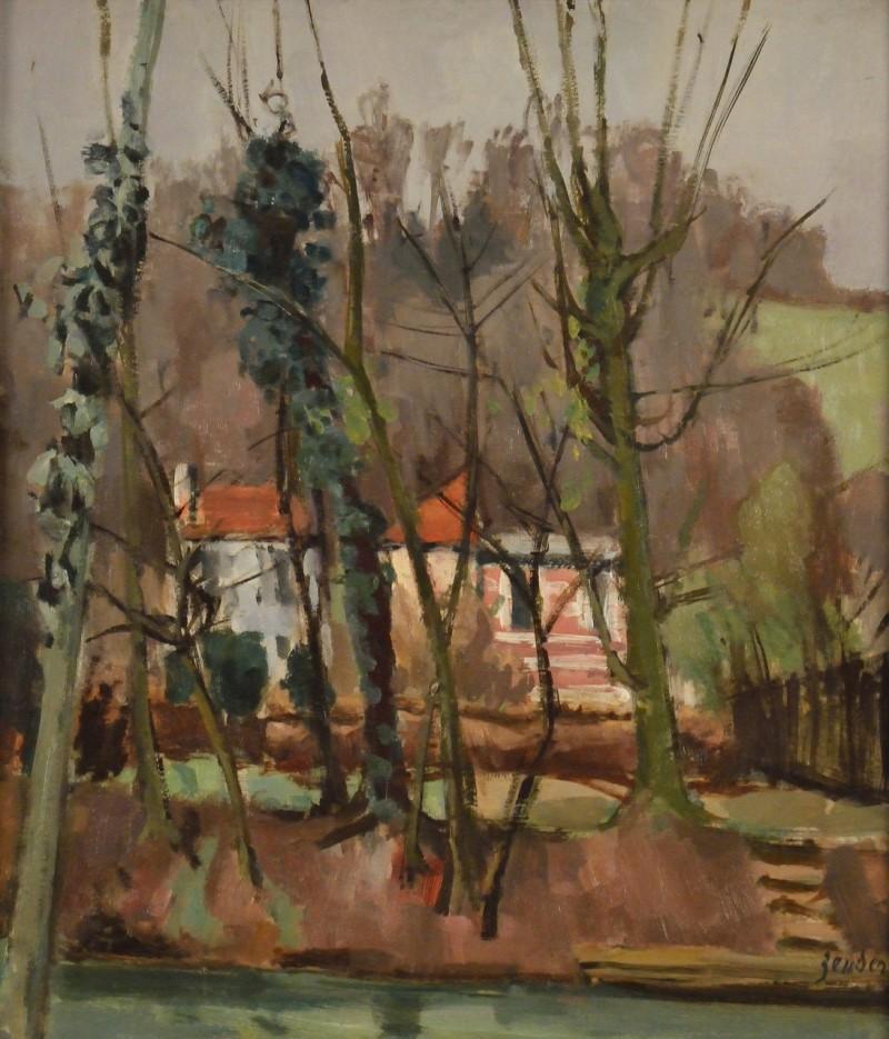 Villa au bord de la Marne, vor 1939