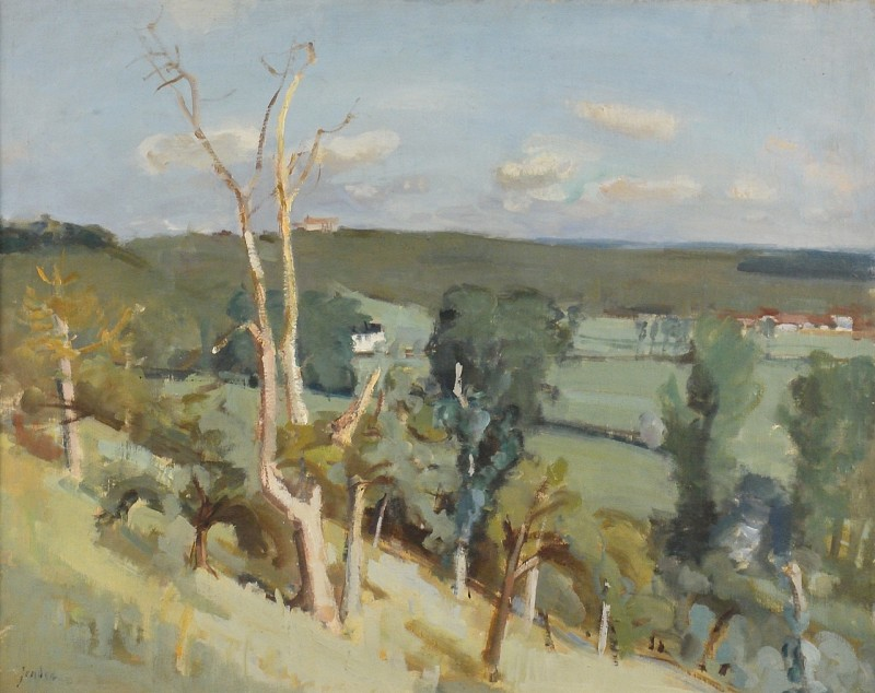 Landschaft bei Mitheuil (1937)