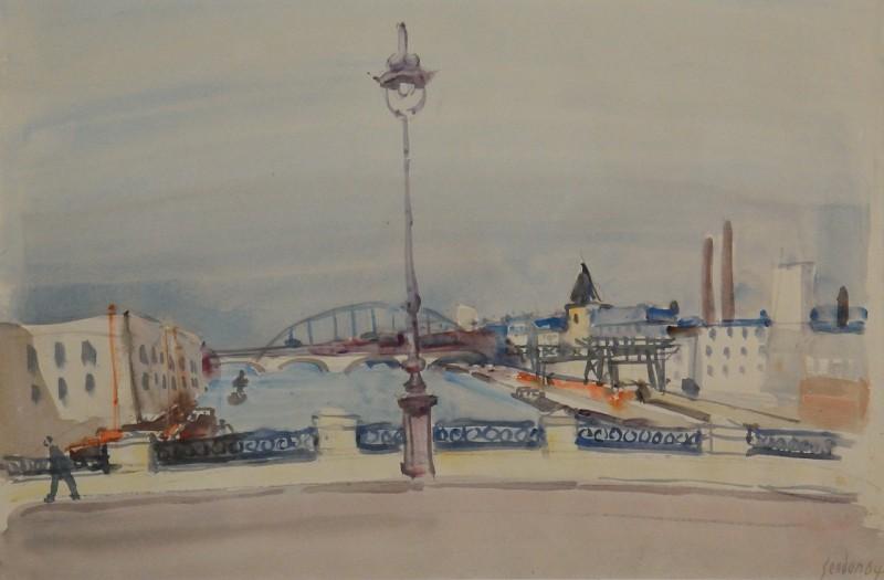 Brücken an der Seine, 1964