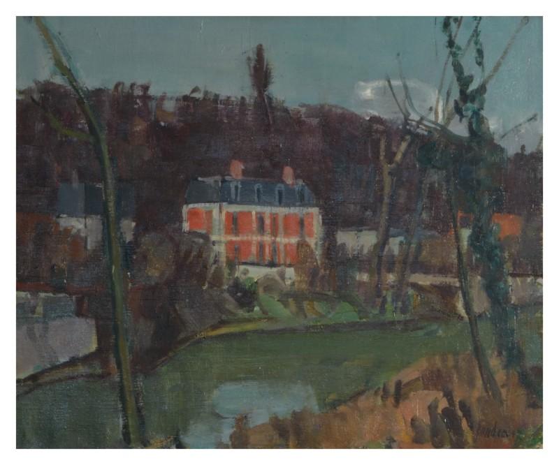 Rotes Haus am Wasser, 1947