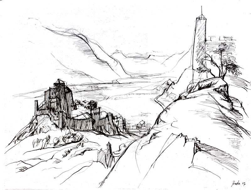 Die Burgen von Sion, 1947