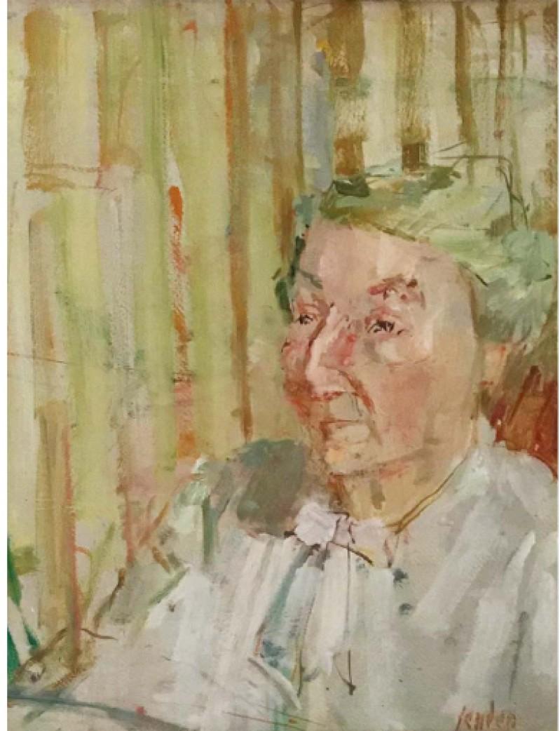 Porträt Hedy Hahnloser, 1951