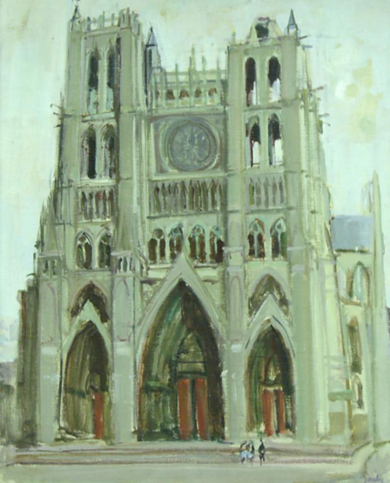 Kathedrale von Amiens, ca 1952