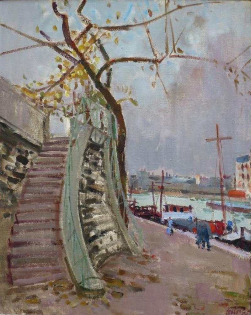 Quai de Seine, 1965
