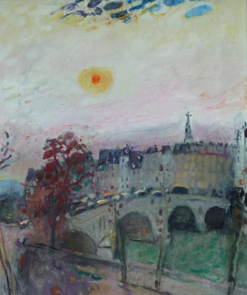 Morgensonne über Paris