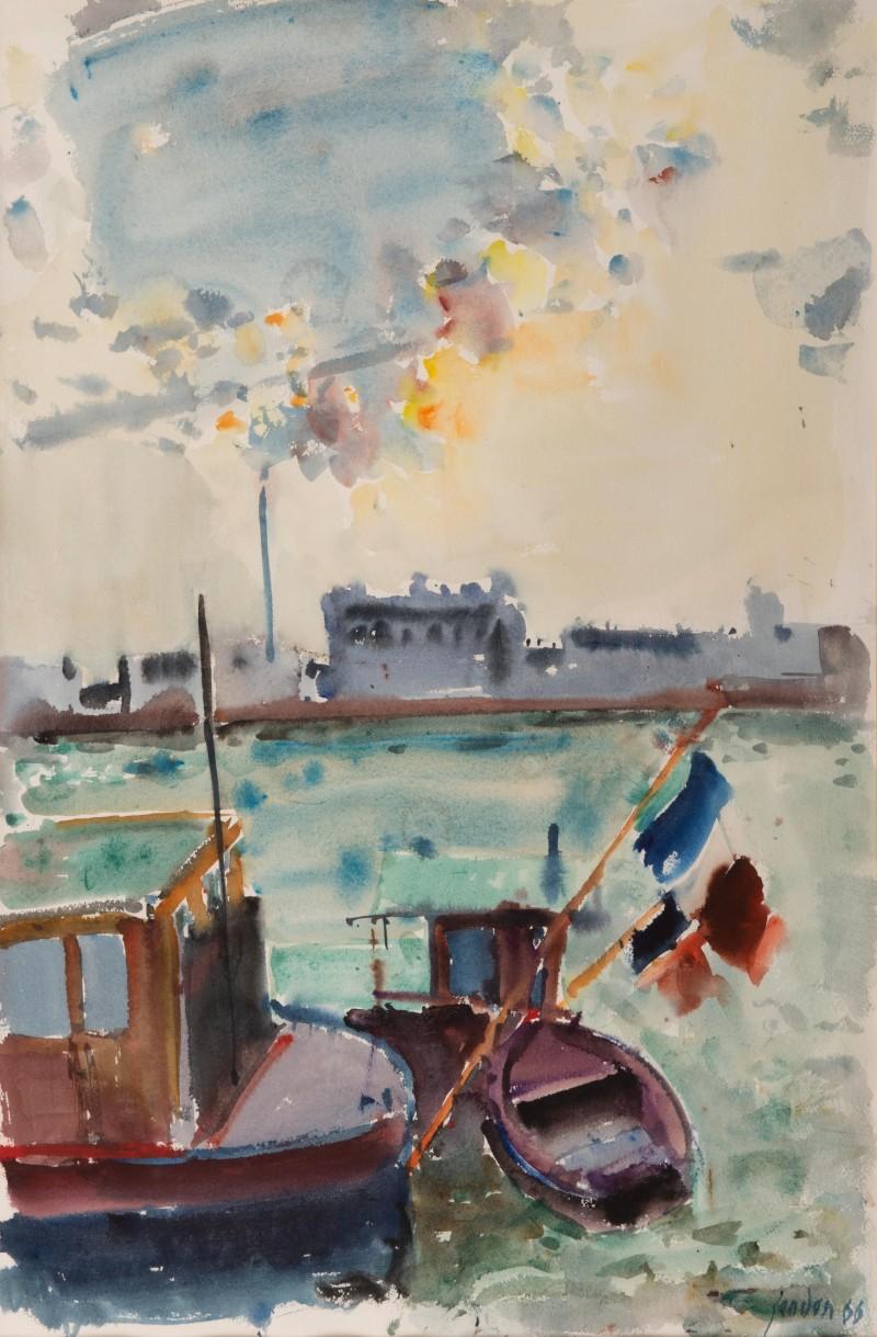 Chaland auf der Seine, 1966