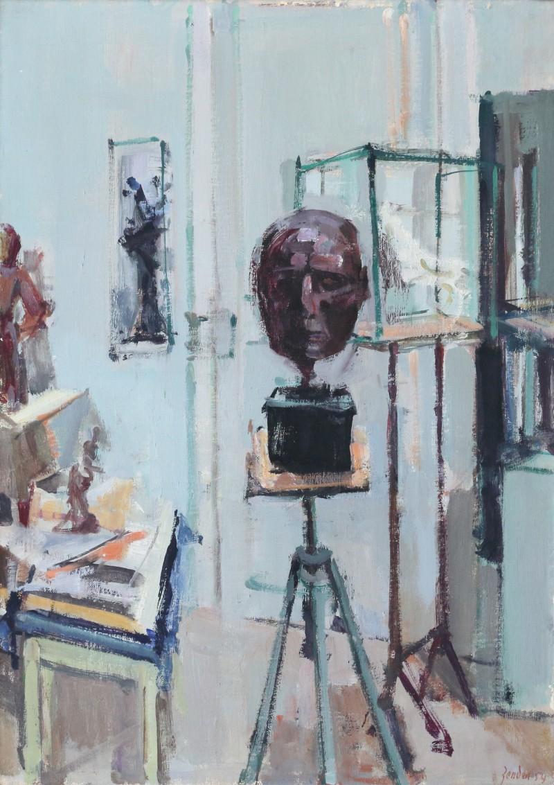 Atelier Germaine Richier, Porträt Hellens