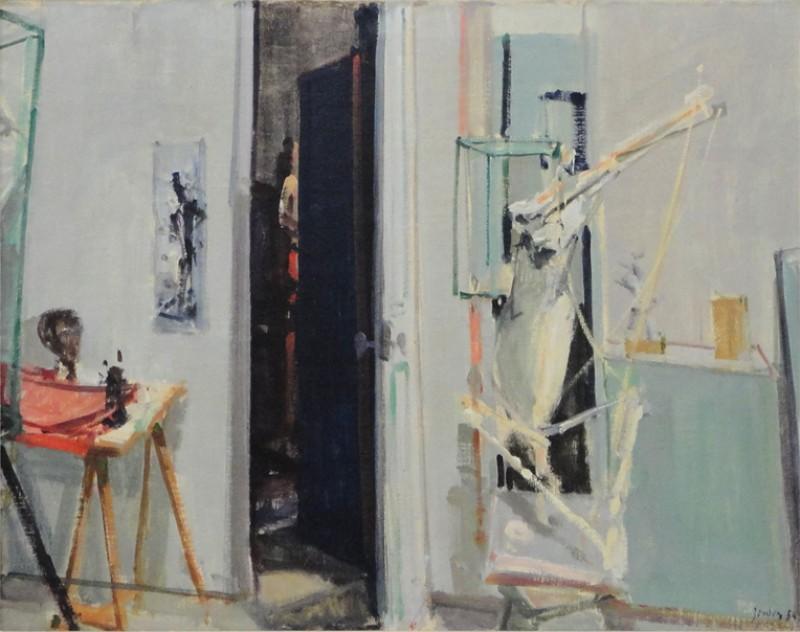 Das Bildhaueratelier (Germaine Richier), 1954