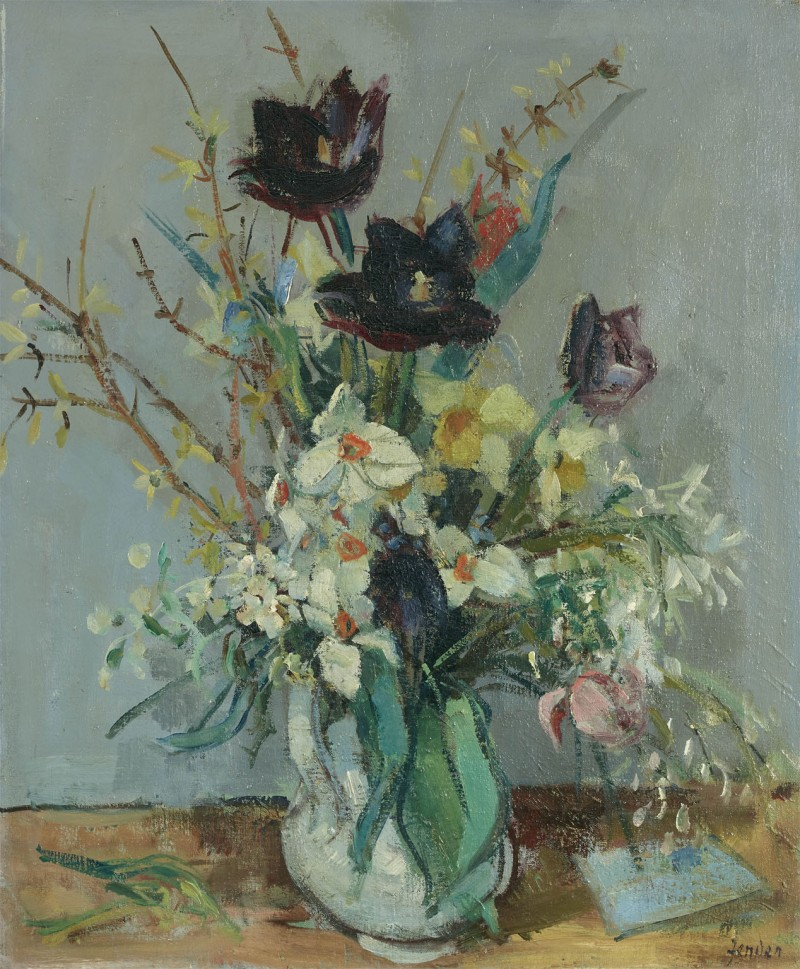 Narzissen und Tulpen, 1941